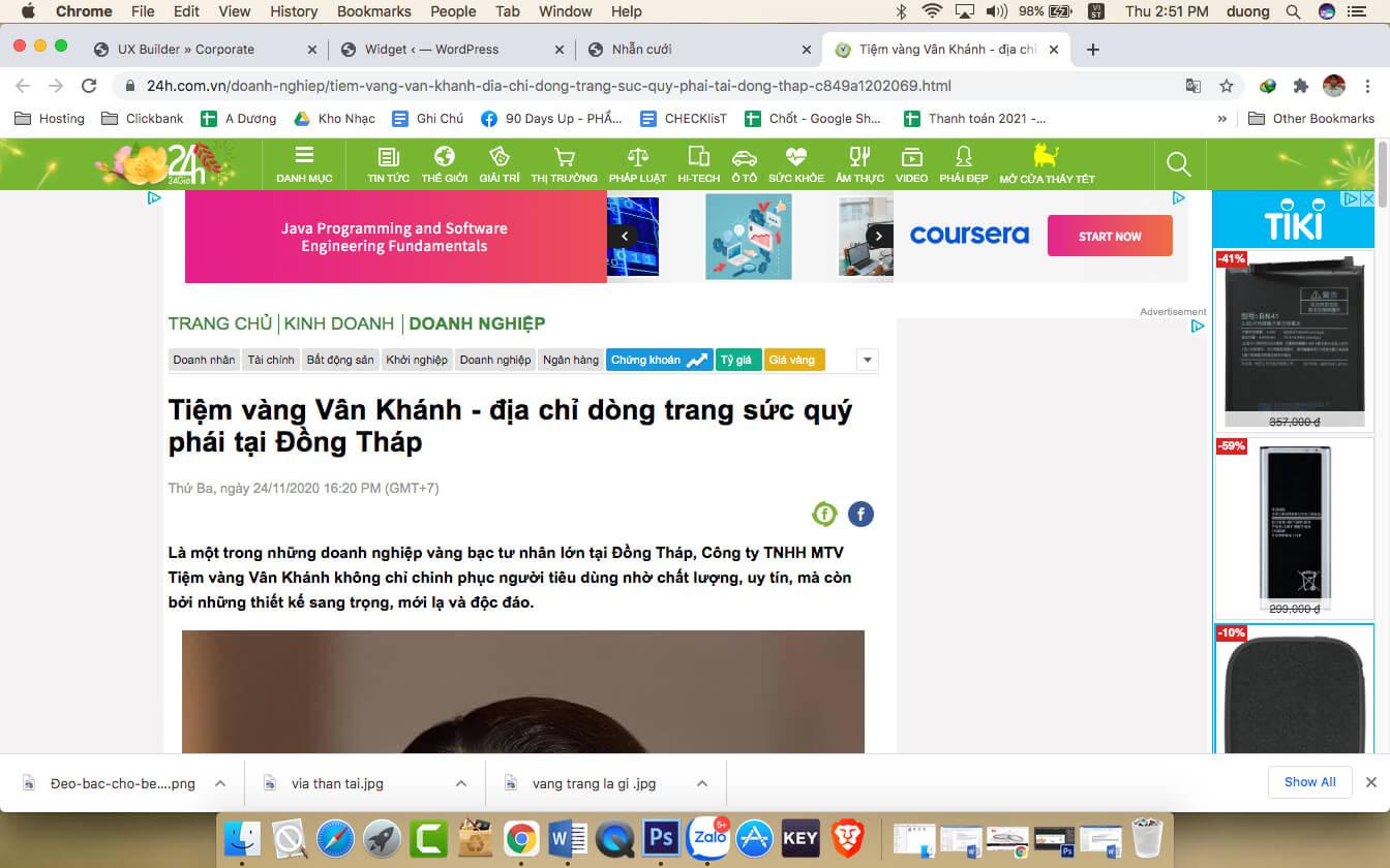Báo 24.com.vn nói về chúng tôi